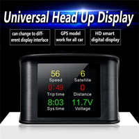 T600 Car Head up Display hud head up display hud head up navigation 2.2 inch car GPS car display