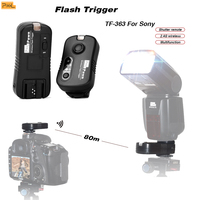 Pixel TF 363 Flash Trigger Controller Speedlite Wireless Shutter remote for Sony a560 a550 a500 a450 a350 a57 a55 a35 a33 a65
