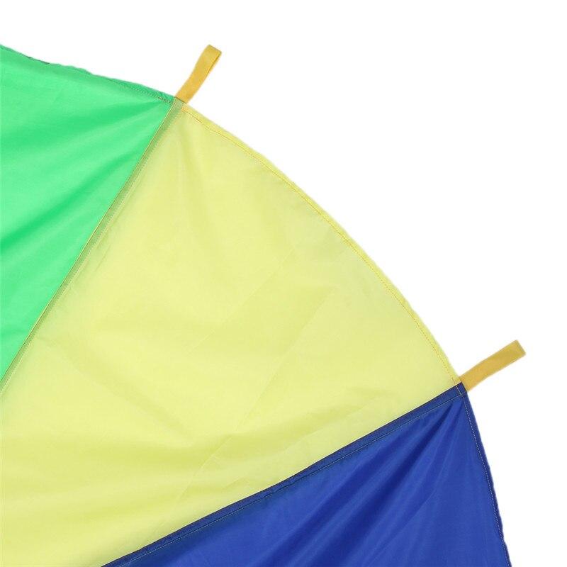 2M-Children-Kids-Outdoor-Sports-Development-Toy-Rainbow-Umbrella-Parachute-Toy-Jump-sack-Ballute-Play-Parachute-Gameing-Play-Mat-3