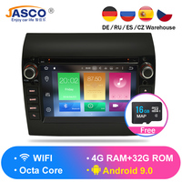 New Link Ram 4G Android 9.0 9.1 Car Stereo For Fiat Ducato Jumper Boxer 2GB RAM DVD Headunit Bluetooth GPS Navigation TDA7851