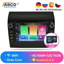 Новый Link ram 4G Android 9,0 9,1 автомобильный стерео для Fiat Ducato Jumper Boxer 2 Гб ram DVD головное устройство Bluetooth gps навигация TDA7851