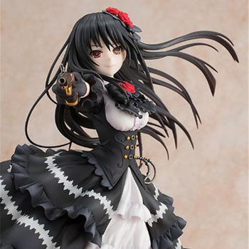 23cm Japanese anime figure DATE A LIVE 30th anniversay Tokisaki Kurumi action figure Nightmare collectible model toys for boys 1