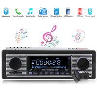 New Arrival ISO 12PIN Car Radio MP3 Player Radio Adapter Charger USB Support SD Aux Bluetooth