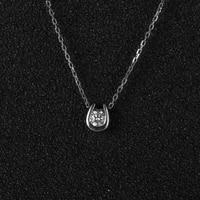 SI H 1 10ct Real Diamonds Women Fine Necklace Pendant Solid 14k White Gold