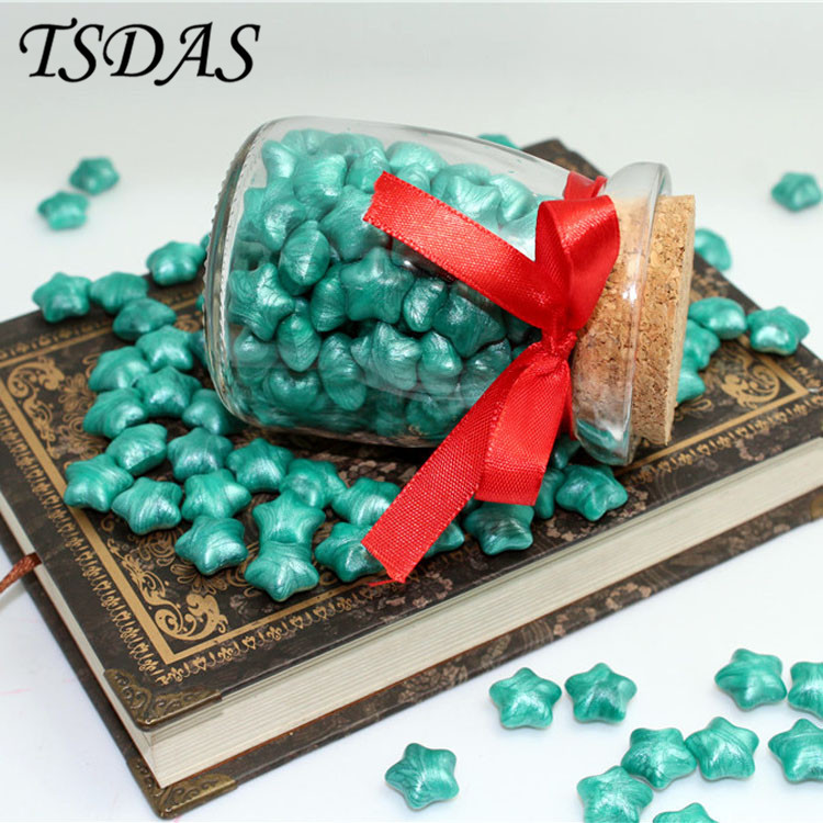 Green New Creative Vintage DIY Wedding Envelope Sealing Wax in Bulk Granule Wax Stamp Particles creative wax envelope set literary romantic gift confession artifact the new year wedding gift