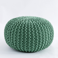 Ins Green Nordic Style Fashion Cotton Futon Sofa Tatami Meditation Cushion Yoga Round Chair Cushion Seat