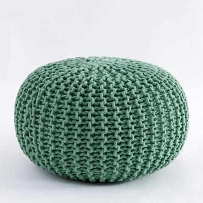 Ins Green Nordic Style Fashion Cotton Futon Sofa Tatami Meditation Cushion Yoga Round Chair Seat