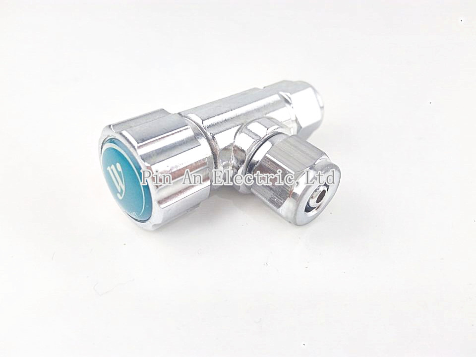 CO2 Needle Valve For Pressure Guage Diffuser System DIY Planted Aquarium 2 Types dn19 manual sanitary aseptic sampling valve