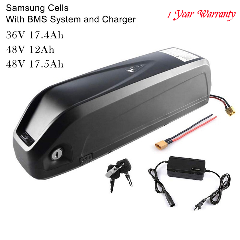 36V 17 4Ah 48V 12Ah 17 5Ah Lithiumlon E Bicycle Battery With Charger for Electric Bicycle