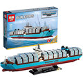 2017 New 1518Pcs  LEPIN 22002 The Maersk Cargo Container Ship Set Educational Building Blocks Bricks Model Toys Gift 10241