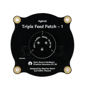 1 шт. 5,8 ГГц Тройная подача патч-антенна SMA Направленная круговой поляризационная антенна