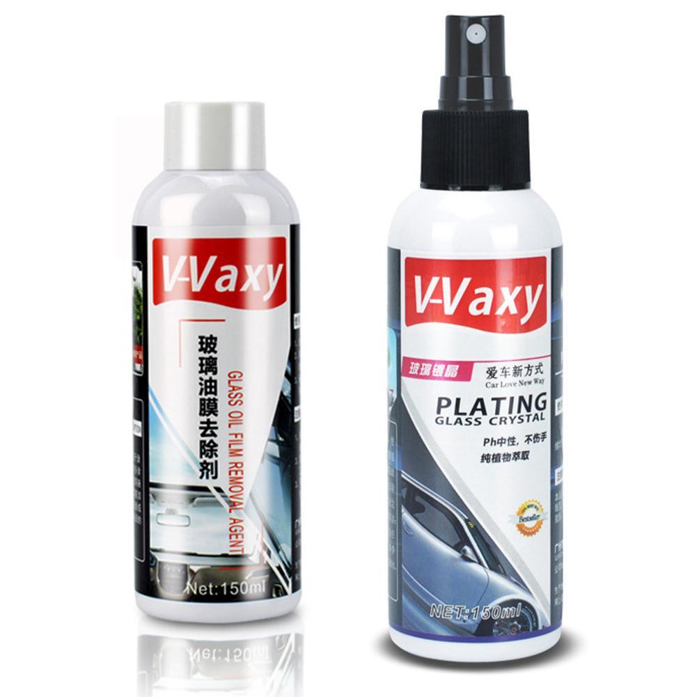 150ML Car Glass Coating Agent Rainproof Agent 9H Car Oil Film Remover Glass Rain Mark Windshield Plating Crystal Coating Agent