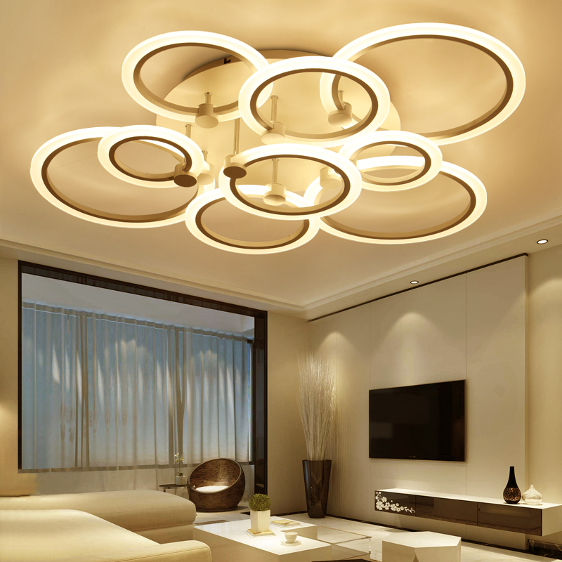 lustre de plafond moderne Ceiling Lights Living room Bedroom LED Modern luminaire plafonnier Lampara de techo Ceiling lamp LED modern led ceiling lights living room bedroom acrylic lamps design plafonnier lighting fixtures lamparas de techo moderne lamp