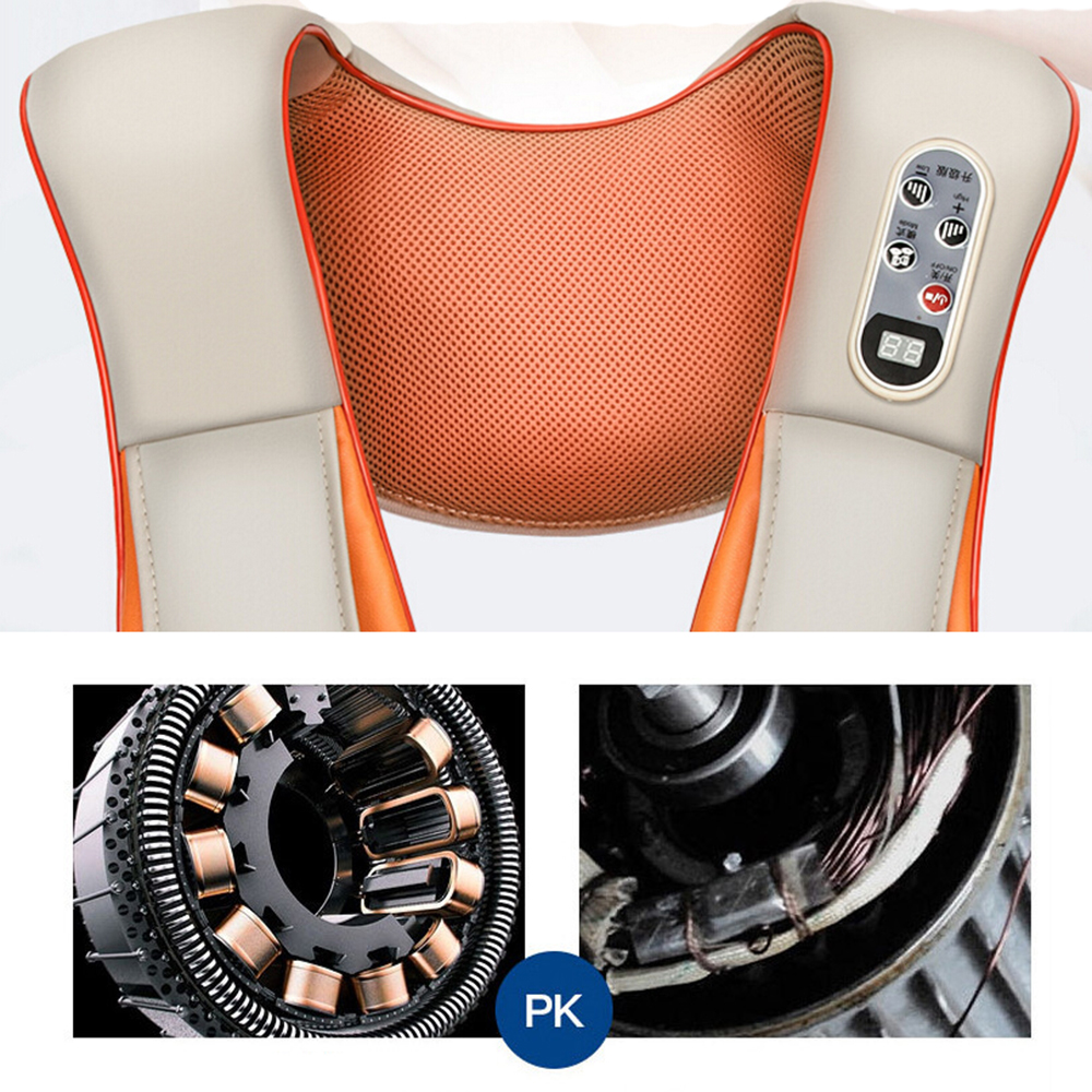 Electric Body Back Neck Shoulder Massage For Home And Car For With Cellulite Shiatsu Acupressure 9