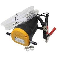 Car Oil Extractor Pump DC 12V 24V Fuel Transfer Pump Car Motorbike Diesel Fluid Scavenge Oil