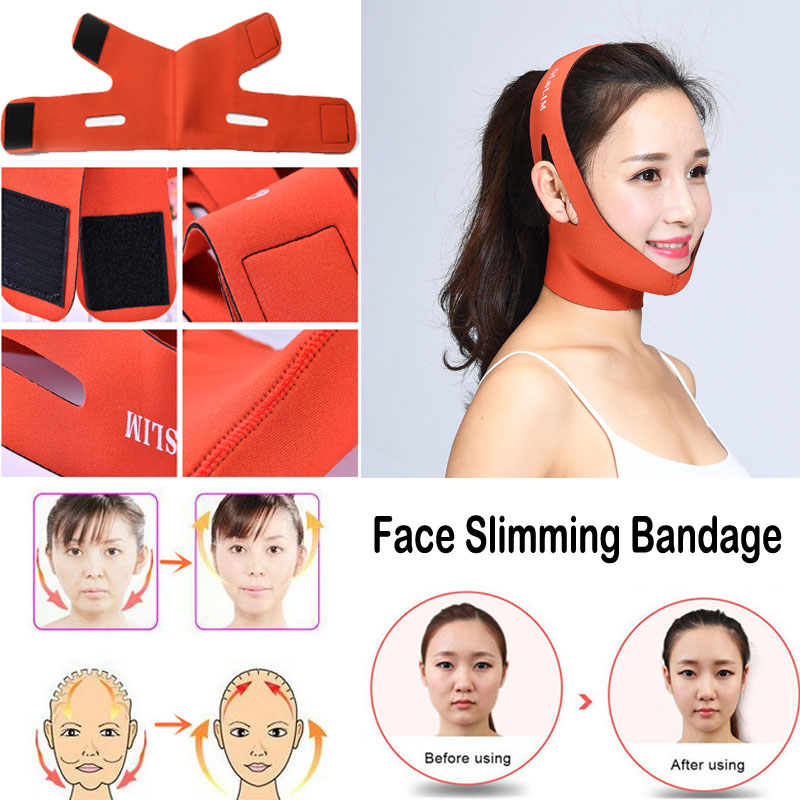 Face Lift Tools Thin Face Mask Slimming Facial Thin Masseter Double Chin Skin Face Bandage Belt Women Face Care Anti Cellulite