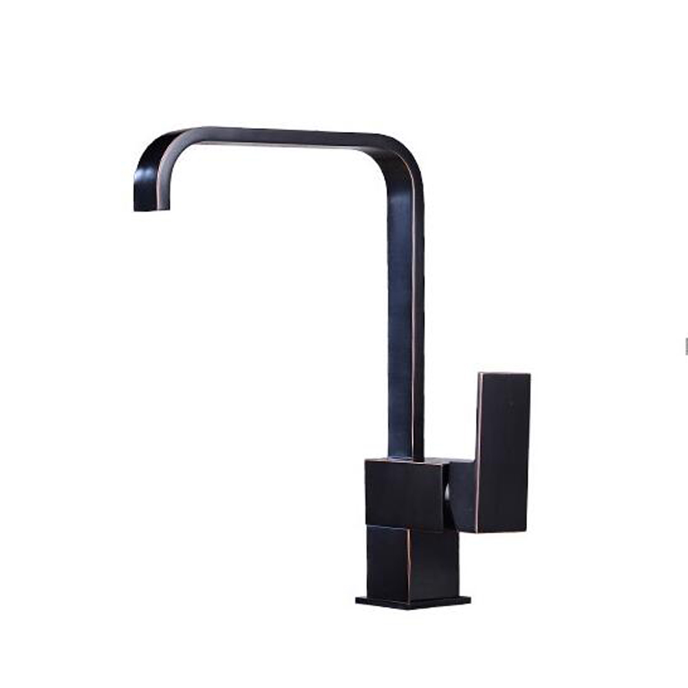 Full copper black kitchen faucet hot and cold sink faucet 360 rotary dish washer faucet wx6061051 slv спот slv kalu floor 147296