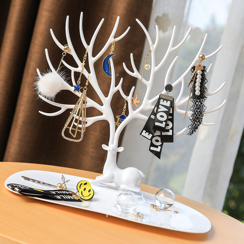 Antler tree display stand creative jewelry box earrings necklace necklace bracelet earrings storage jewelry stand