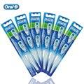 Oral B Сменные Зубная Щетка Главы для Креста Действий Электрическая Зубная Щетка Двойной Чистой Совместимой Deep Clean 12 Головы/6 пакеты