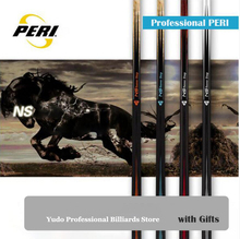 PERI 1/2 Pool Cue Kit 12.75mm Tip Billiards Stick Handmade for Championship Professional Players China 2019