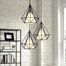Moderne Nordic anhänger lichter E27 LED industrielle loft hängen lampen mit 3 arten für wohnzimmer hotel restaurant schlafzimmer lobby