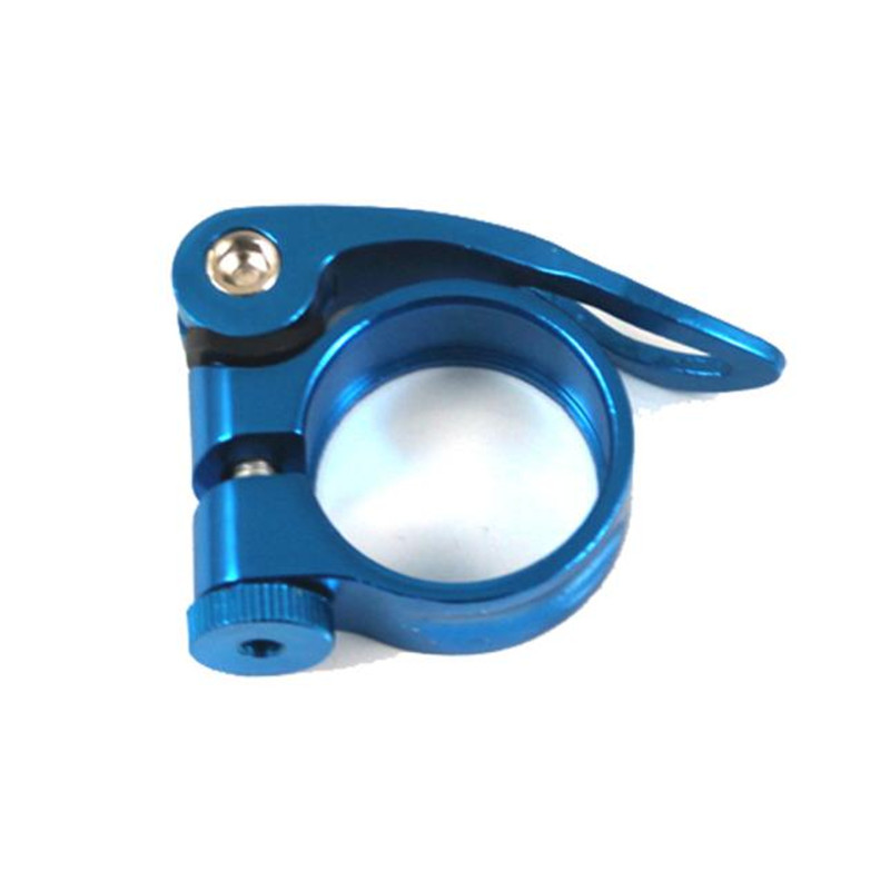 31.8mm Aluminum Alloy MTB Bike Bicycle Cycling Saddle Seat Post Clamp New N#S7