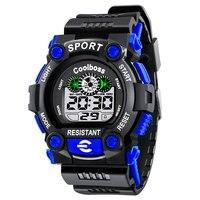 COOLBOSS Sport Student Children Watch Kids Watches Boys Clock Child LED Digital Wristwatch Electronic Wrist Watch