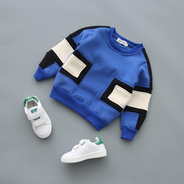Meninos moda esporte hoodies lã quente camisola das crianças roupas de bebê crianças casaco crianças jaqueta clothing pulôver jumper