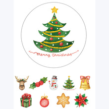 Alideco 1pc Japanese Paper Washi Tapes Christmas Things Masking Tapes Decoration Adhesive Tapes Scrapbooking stickers stationery