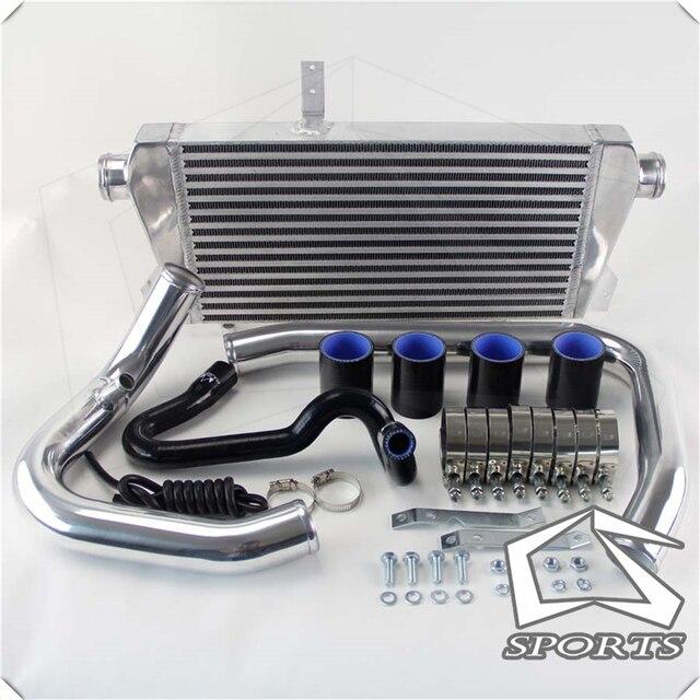 Комплект интеркулера с передним креплением, алюминиевая труба подходит для 96 01 V * W P * ASSAT A * UDI A4 B5 1,8 T