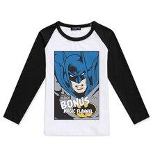 New Arrival Baby Boy T Shirts Kids Tops Tees Boys Long Sleeve O-Neck Fashion Tshirts Batman Printing Hipster Color Block T-Shirt стул домотека омега 1 скл д 2