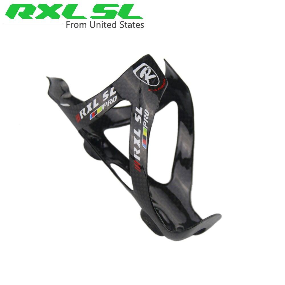 RXL SL Bicycle Bottle Holder PRO Carbon Bottle Cag...