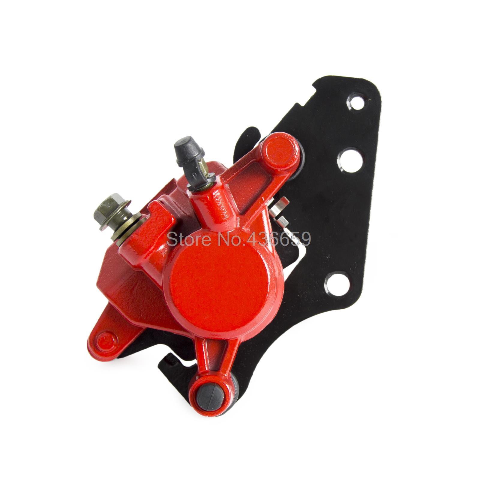Brake Caliper Assy With Pads For Yamaha XC125E  32P-F580U-11-00 brake caliper assy with pads for yamaha xc125e axis treet e53j 2009 2013 210 2011 2012 number 32p f580u 11 00