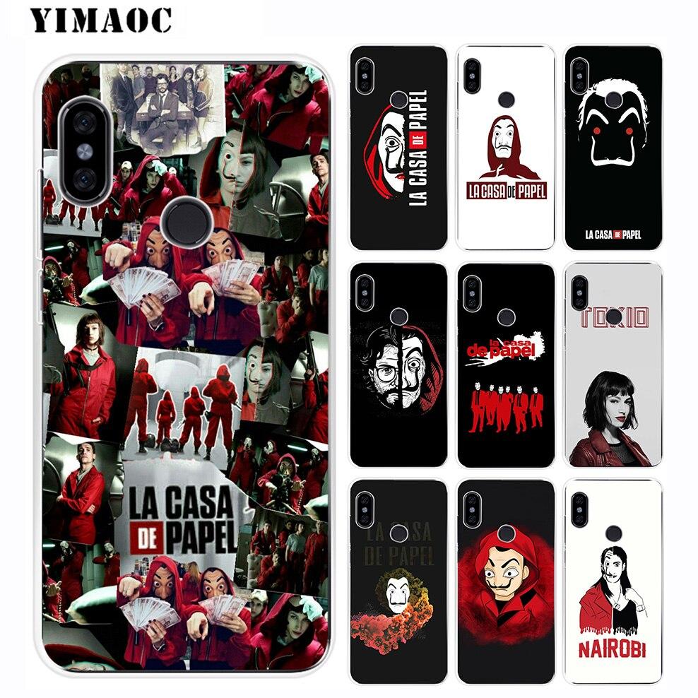 Coque en silicone souple YIMAOC pour TV Xiao mi mi 9 8 SE 6 6X 5X mi x 2 S A2 Lite mi A1 Xiao mi POCOPHONE F1 MAX 3
