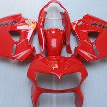 Мотоцикл обтекатель комплект для HONDA VFR800 98 99 00 01 VFR 800 1998 1999 2000 2001 полный красный Обтекатели+ подарки HP66