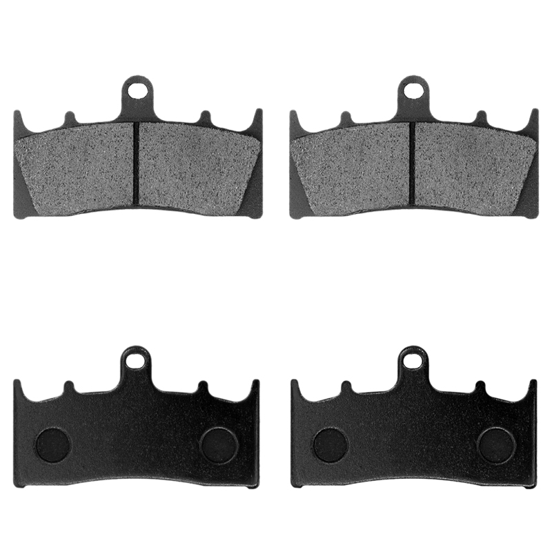 SOMMET Motorcycle Front Rear Brake Pads for Suzuki GSF 650 K//SK Bandit Non ABS 2005-2006