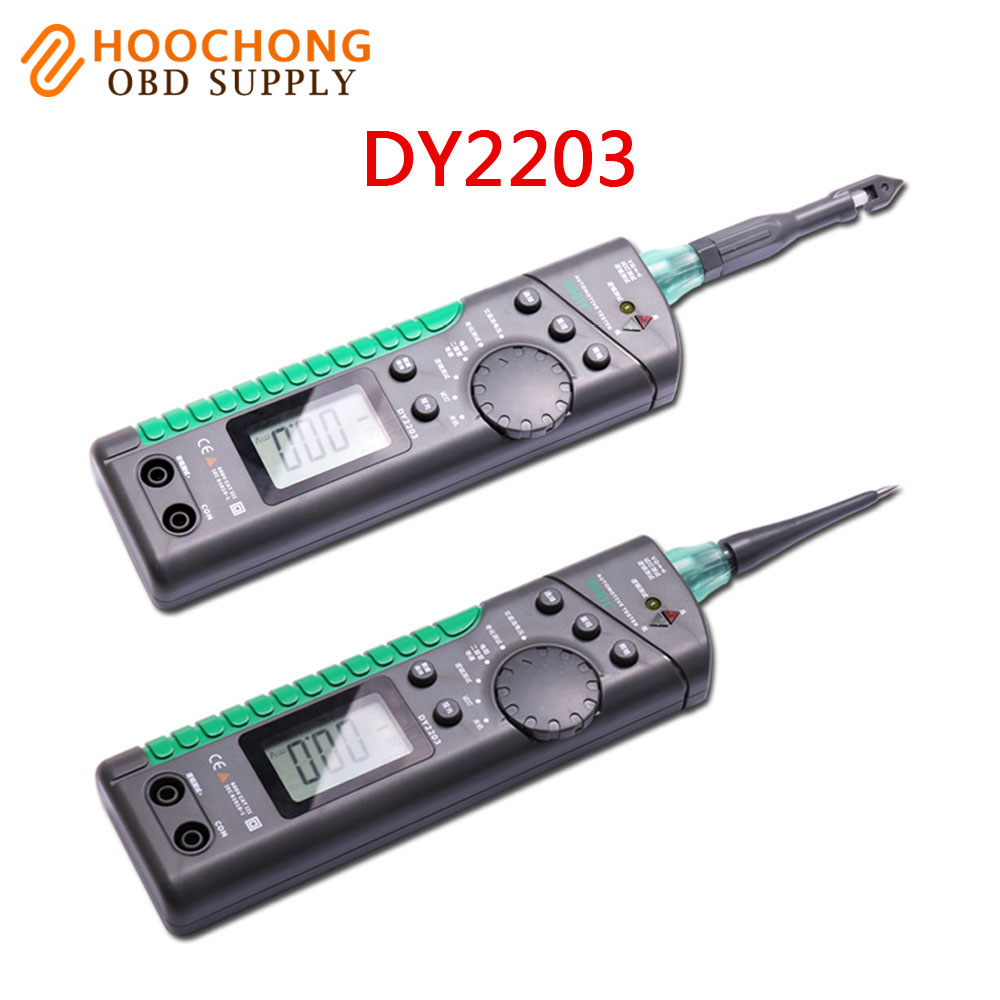 Free Shipping Duoyi Dy2203 Electric Vehicle Circuit Tester Electrical Capacity