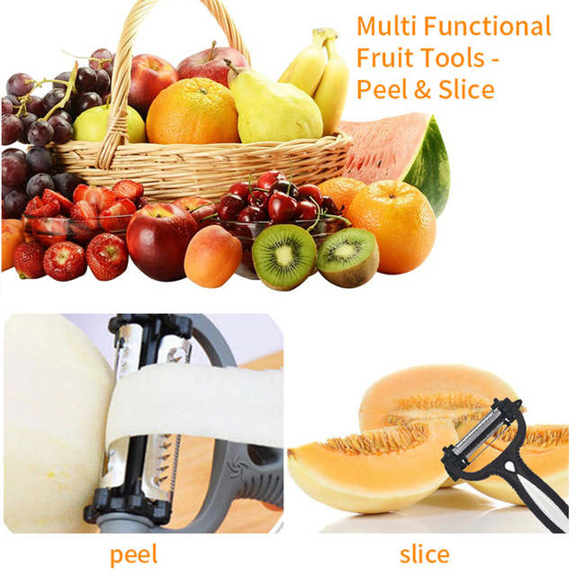 Multifunctional 360 Degree Rotary Grater Kitchen Tool 2