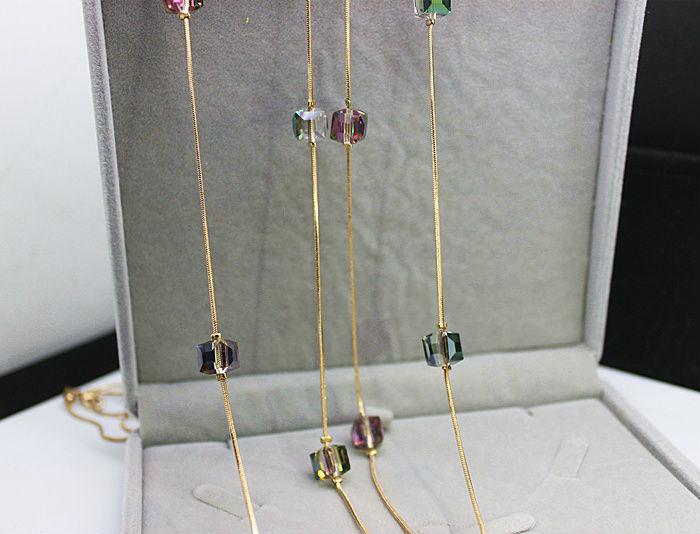 Europe Fashion Crystal smykker tilbehør, østrigske krystal perle - Mode smykker - Foto 6