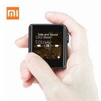 Оригинальный Xiaomi MP3 Mijia M0 музыкальный плеер мини Портативный HD Сенсорный экран Bluetooth 4,1 Металл HIFI MP3 Hi Res Портативный плеер