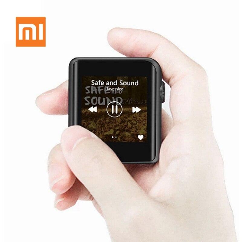Original Xiaomi MP3 Mijia M0 lecteur de musique Mini Portable HD écran tactile Bluetooth 4.1 métal HIFI MP3 hi-res lecteur Portable