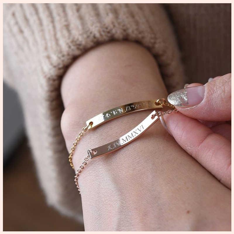 Strollgirl authentic 925 prata esterlina personalização personalizada pulseira amizade jóias personalizado melhor amigo presente