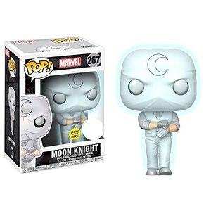 Ekskluzywne FUNKO POP oficjalne świecące w ciemności Marvel: Moon Knight winylowa figurka akcji zabawka-model do kolekcjonowania z oryginalnym pudełkiem