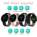 2017 Brand Life Waterproof Smart Bracelets V06  Heart Rate Monitor Sport Smart Wristatches Clock Pk v8 gt08 s1 s2 free shipping