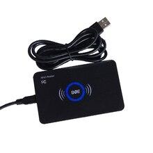 13.56Mhz RFID Reader 14443A Proximity Smart IC Card USB Sensor Reader