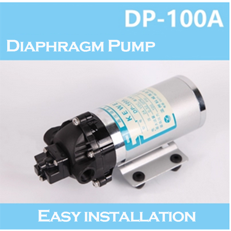 24V DC Electric Mini Diaphragm Pump Self-priming Booster pump for Garden Cooling Car Washer 1.1A
