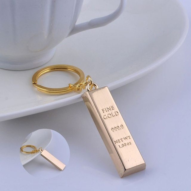 Fashion 1 Pcs Jewelry Accessorie Creative Gold Faux Gold Bar Bullion