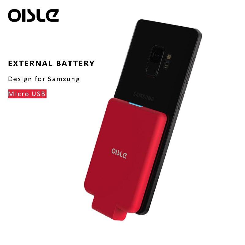 Étui pour samsung Galaxy J5 J3 J6 J4 + Micro USB 4500 mAh étui pour batterie externe de secours OUKITEL C15 Pro