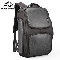 Kingsons обновлен рюкзак Солнечный быстро USB Kanpsack 15,6 дюймов ноутбука рюкзаки для мужчин женщин Прохладный дорожная сумка Mochila