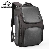 Kingsons Upgraded Backpack Solar Fast USB Kanpsack 15.6 Inch Laptop Backpacks Men Women Cool Travel Bag Mochila